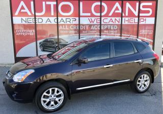 Used 2013 Nissan Rogue SL-ALL CREDIT ACCEPTED for sale in Scarborough, ON