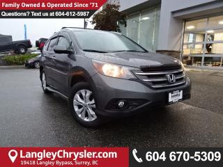 Used 2014 Honda CR-V Touring *ACCIDENT FREE*ONE OWNER*LOCAL BC SUV* for sale in Surrey, BC