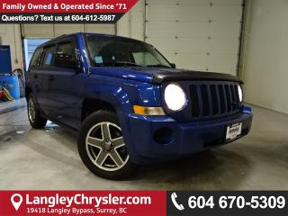 Used 2009 Jeep Patriot Sport/North *ONE OWNER*LOCAL BC SUV* for sale in Surrey, BC