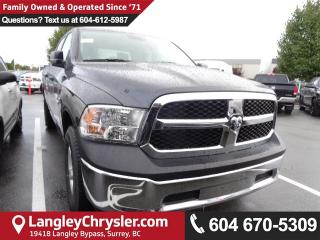 New 2018 Dodge Ram 1500 ST SXT Appearance Group, Popular Equipment Group for sale in Surrey, BC