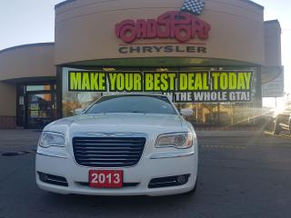 Used 2013 Chrysler 300 Touring LEATHER H-TED SEATS 8.4 RADIO PUSH BUTTON for sale in Scarborough, ON