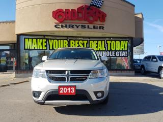 Used 2013 Dodge Journey R/T 7 PASS READ DVD NAVI PWR SUNROF ONLY 20600 KM for sale in Scarborough, ON