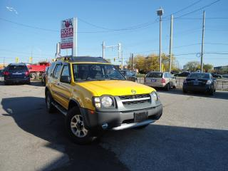 Used 2002 Nissan Xterra AUTO 4X4 LOW KM NO RUST SAFETY ETEST 4 NEW TIRES for sale in Oakville, ON