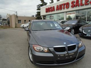 Used 2006 BMW 3 Series 323i SUNROOF  NO ACCIDENTS AUX SAFETY E TEST INC for sale in Oakville, ON