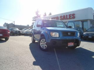 Used 2006 Honda Element 4dr 4WD Auto SUNROOF ONE OWNER NO ACCIDENT PW PL P for sale in Oakville, ON
