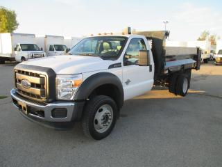 Used 2016 Ford F-550 XL,REG CAB 4X4 11 FT DEL DUMP BODY for sale in London, ON
