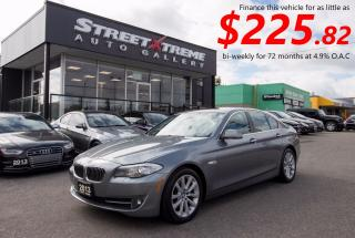Used 2013 BMW 5 Series 528i xDrive for sale in Markham, ON
