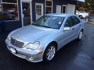 Used 2006 Mercedes-Benz C230 2.5L for sale in Parksville, BC