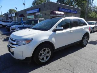 Used 2013 Ford Edge SEL * AWD * LEATHER * PANO ROOF * NAV * REV CAM for sale in Windsor, ON