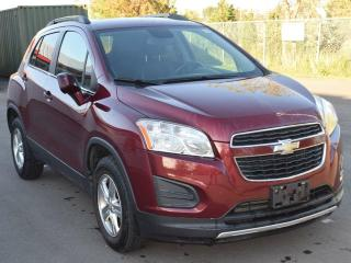 Used 2013 Chevrolet Trax 2LT All-wheel Drive Sport Utility for sale in Brantford, ON