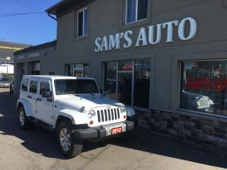 Used 2012 Jeep Wrangler Sahara for sale in Hamilton, ON