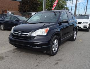 Used 2010 Honda CR-V LX. Low Kms. for sale in Brampton, ON