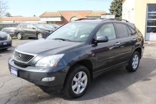 Used 2009 Lexus RX 350 AWD Sunroof Leather for sale in Brampton, ON