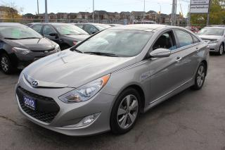 Used 2012 Hyundai Sonata Hybrid Primium Panorama Roof Navi for sale in Brampton, ON