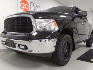 Used 2015 Dodge Ram 1500 SLT- dial drive control, 4x4 crew cab. Has guts. Has Glory. Its gotta be a RAM for sale in Edmonton, AB