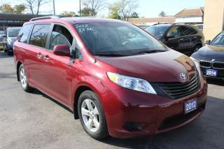 Used 2012 Toyota Sienna CE for sale in Brampton, ON