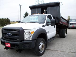 Used 2014 Ford F-550 XL | 4x4 | 12' Landscape Dump for sale in Stratford, ON