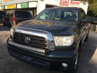 Used 2007 Toyota Tundra SR5 Safety and E Test is Included The Price for sale in Scarborough, ON