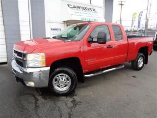 Used 2007 Chevrolet Silverado 2500 HD LT Z71 4x4, Ext. Cab, 6.0L V8, Local BC Truck!! for sale in Langley, BC