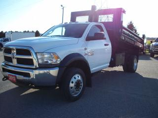 Used 2013 RAM Chassis Cab RAM 5500 HD 11' Dump for sale in Stratford, ON