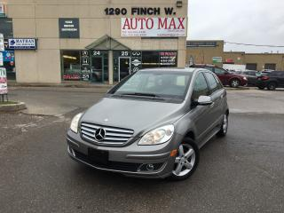 Used 2008 Mercedes-Benz B200 Sunroof, Clean Carproof, Certified for sale in North York, ON