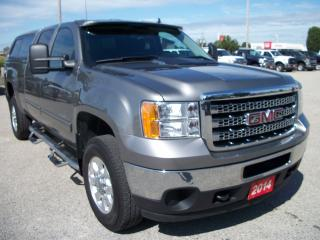Used 2014 GMC Sierra 2500 Crew Cab 4x4 for sale in Stratford, ON