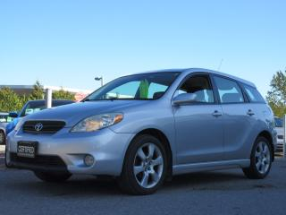 Used 2005 Toyota Matrix XR / ACCIDENT FREE / LOCAL CAR for sale in Newmarket, ON