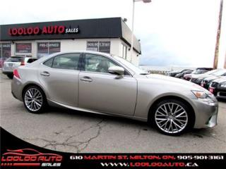 Used 2014 Lexus IS 250 AWD Navigation Camera Certified 2YR Warranty for sale in Milton, ON