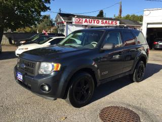 Used 2008 Ford Escape XLT/Automatic/Clean Carproof/Certified for sale in Scarborough, ON