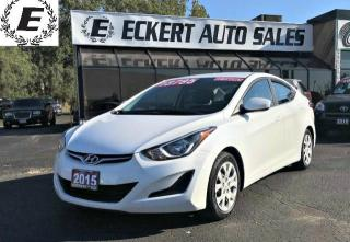 Used 2015 Hyundai Elantra GL /BLUETOOTH for sale in Barrie, ON
