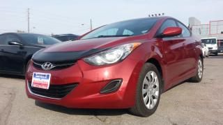 Used 2011 Hyundai Elantra GL, AUTO, ACCIDENT FREE for sale in North York, ON