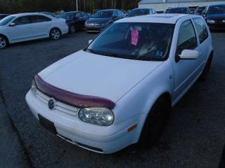 Used 2002 Volkswagen Golf GL for sale in Hebbville, NS
