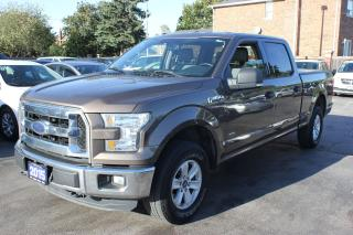 Used 2015 Ford F-150 XLT 4X4 Crew Cab Backup Cam for sale in Brampton, ON