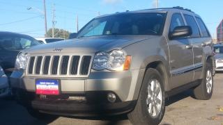 Used 2008 Jeep Grand Cherokee LAREDO, DIESEL, LEATHER, 4X4, S-ROOF for sale in North York, ON