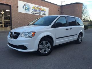 Used 2014 Dodge Grand Caravan SE - REAR STOW N'GO - REAR AIR - BLUETOOTH - ALLOY for sale in Aurora, ON