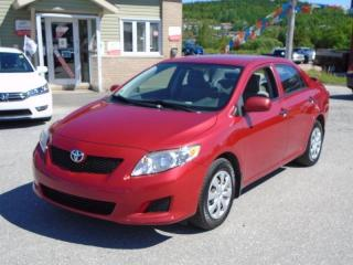 Used 2009 Toyota Corolla CE for sale in Corner Brook, NL