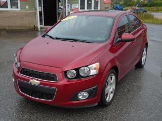 Used 2015 Chevrolet Sonic LT for sale in Corner Brook, NL
