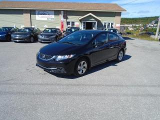 Used 2014 Honda Civic LX for sale in Corner Brook, NL
