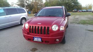 Used 2010 Jeep Compass 4x4 for sale in Cambridge, ON