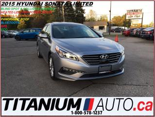 Used 2015 Hyundai Sonata Limited+GPS+Camera+Blind Spot & Collision Warning+ for sale in London, ON