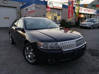 Used 2007 Lincoln MKZ w/Navi_Leather_Sunroof_Bluetooth for sale in Oakville, ON