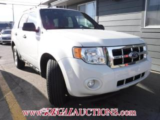 Used 2011 Ford ESCAPE XLT 4D UTIL 4WD 4CYL for sale in Calgary, AB
