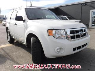 Used 2011 Ford ESCAPE XLT 4D UTIL 4WD for sale in Calgary, AB