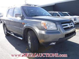 Used 2007 Honda Pilot 4D Utility 4WD for sale in Calgary, AB