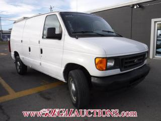 Used 2006 Ford E250 VANS ECONOLINE CARGO VAN for sale in Calgary, AB