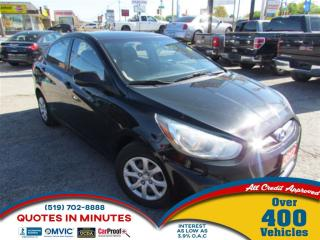 Used 2012 Hyundai Accent GLS 4-Door for sale in London, ON