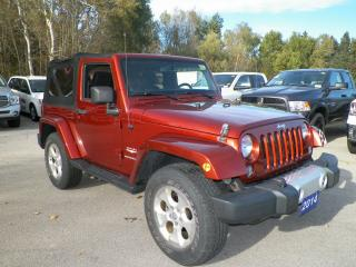 Used 2014 Jeep Wrangler for sale in Owen Sound, ON