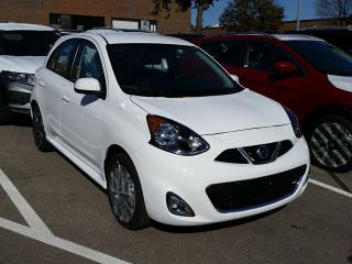 New 2017 Nissan Micra 1.6 SR at for sale in Mississauga, ON