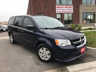 Used 2013 Dodge Grand Caravan Full Stow & Go Seating for sale in Etobicoke, ON