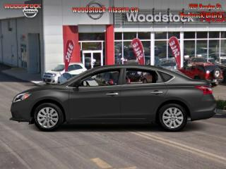 New 2017 Nissan Sentra S  - $136.12 B/W for sale in Woodstock, ON